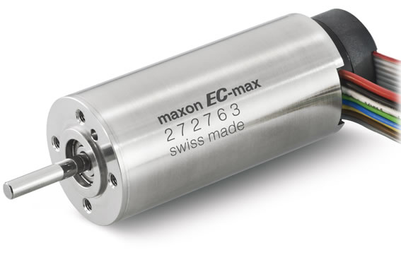 The brushless DC motor EC-max 30 (60 W) of maxon motor. © 2012 maxon motor ag