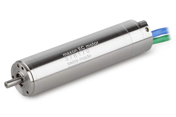 Withstands temperatures of more than 200 degrees: the maxon EC22 HD motor. © 2012 maxon motor