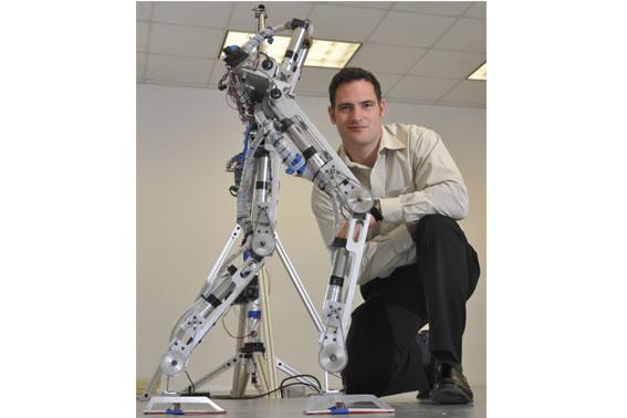 Human Like Bipedal Walking Robot