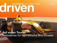 The latest edition of driven, the maxon motor magazine, focuses on the automotive industry