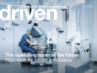 The latest issue of driven is all about state-of-the-art medical technology, like the da Vinci surgical robot