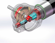 These compact, lightweight and high torque gearheads were developed to transmit power at 90deg in the smallest possible form factor