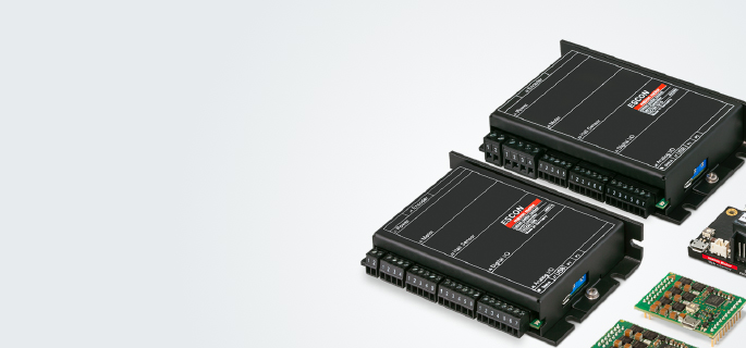 All current, speed and position controllers are specially designed for brushed DC and brushless DC motors up to 1000 W