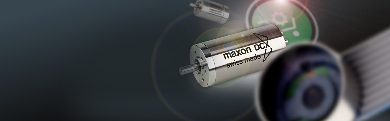 In the maxon Online Shop you can find brushed DC and brushless DC motors, gearheads, encoders and motor controllers
