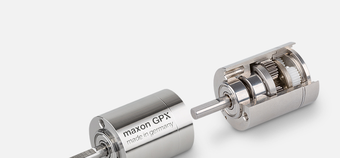 When performance is required at high torque levels and correspondingly low speeds, maxon precision gearheads are in their element